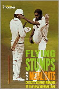 Flying Stups and Cricket Bats
