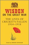 Wisden on the great war